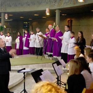MWG-Kammerchor im Gottesdienst