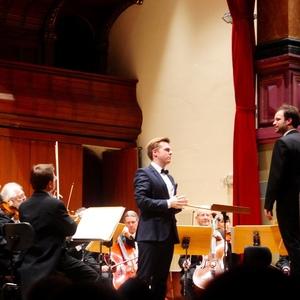 Konzert mit der Württembergischen Philharmonie Reutlingen unter dem Dirigat von Lukasz Borowicz, Stadthalle Heidelberg(11.12.16)