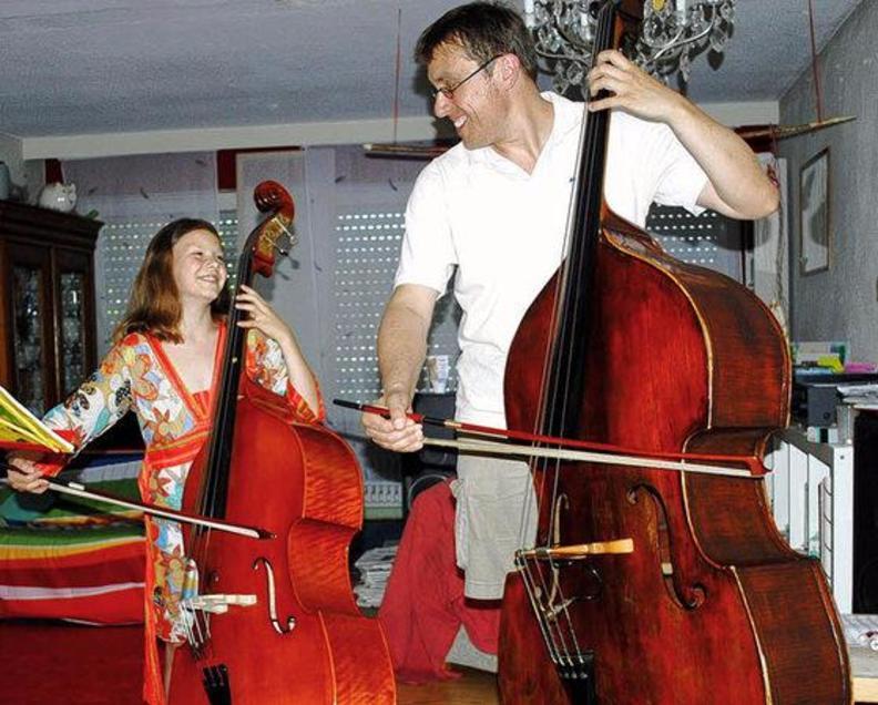 Markus Lechner unterrichtet an der JUM Breisgau