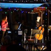 """Unsere Band """"Friends"""" als Garten-Event in der Corona-Krise"""