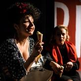 """Miriam Sabba in """"Das Liebesverbot"""", Landesbühnen Sachsen 2012"""