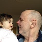 mit meiner kleinen Tochter Elna (10 Monate)