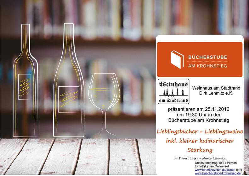 Lieblingsbuch & Lieblingswein