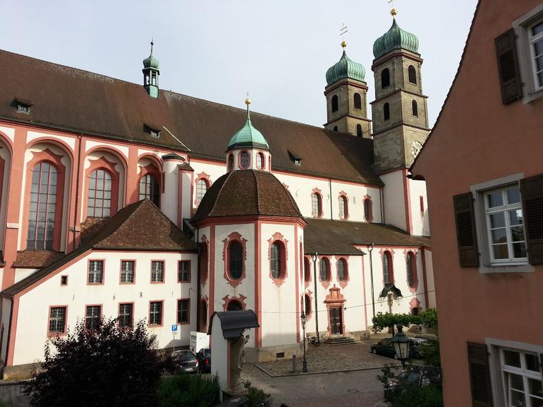 Fridolinsmünster Bad Säckingen