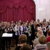 Gelebte russisch-deutsche Chorfreundschaft