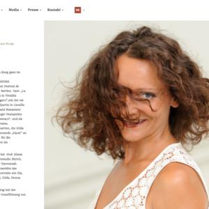 Maya Boog, Sopranistin | Basel