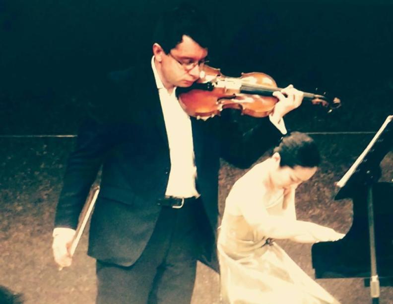 Sergei Bolotny violin Keiko Sakuma piano Japan 2016