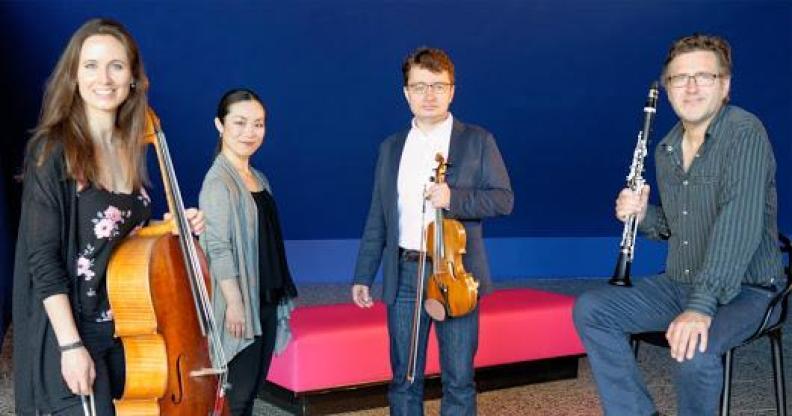 Messiaen Ensemble foto Michiel Klep
