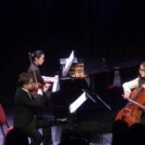 Piano Trio Classique Sergei Bolotny violin Noelle Weidmann cello Keiko Sakuma piano