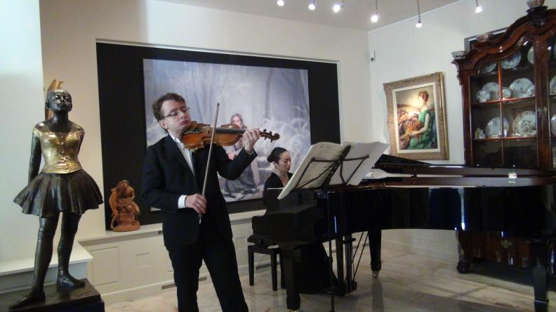 Ricital Violin Piano Sergei Bolotny Keiko Sakuma