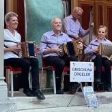 """Konzert """"Kultur vum Ort"""" Dorfbadhalle Bad Ragaz mit Gastmusikantin Brigitte Göring"""