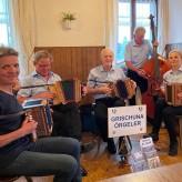 Restaurant Au in Adliswil mit Gastmusikantin Brigitte Göring
