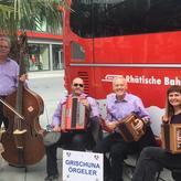 Einweihung Bernina-Express Bus mit Gastmusikantin Ruth Kessler