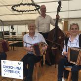 Frühschoppen Waldfest Heuwiesenwald Weite mit Gastmusikanten Hans-Martin und Ulla