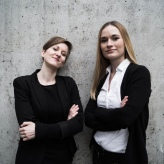 Anna Anstett & Alina Wunderlin. Photo by Minna Kettunen