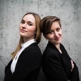 Anna Anstett & Alina Wunderlin. Photo by Minna Kettunen