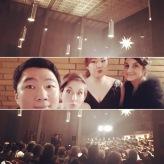 """Vor dem """"Messias"""" 2017 mit dem Kurpfälzischen Kammerorchester in Mannheim"""
