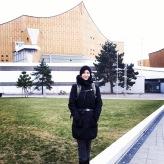 Arbeitsplatz im Februar 2018: Philharmonie Berlin