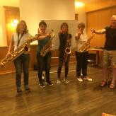 Saxophon Workshop mit Sax Master Stefan Lamml mit *Frauen Power*