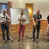 Saxophon Workshop auch für Späteinsteiger, Blues spielen, Improvisieren lernen, Auswendig spielen, Sound verbessern, Ryhytmik und Phrasierung im schönen Altmühltal