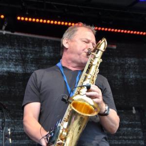 Stefan Solist auf dem Saxophon Bürgerfest Regensburg