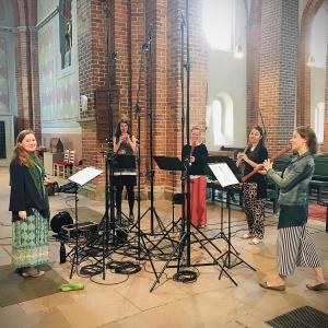 Mit Dorothee Mields in der Stiftskirche Bassum