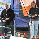 vor einem begeisterten und sympatischen Publikum in Brüggen am Niederrhein