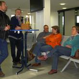 Nach Stunden der Autofahrt über die A31 im Morgengrauen: Ferry2Kerry wartet auf die Fähre nach Norderney. Zeit für einen kurzen Imbiss mit Verschnaufpause
