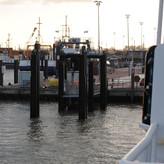 Noch ein Blick zurück in den Hafen des Festlandes