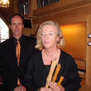 Duo Dreaming Pipes: Jürgen Borstelmann und Christina Glede