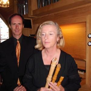 Duo Dreaming Pipes: Jürgen Borstelmann und Christina Glede