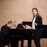 Anna Schaumlöffel | Meisterkurs KS Christa Ludwig (Jonathan Ware, Klavier) | © Dabernig | 2018