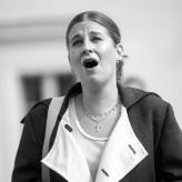 """Proben """"Fidelio""""  - Larissa Angelini (Leonore) © Uwe Hauth"""