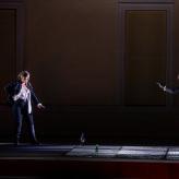 "Premiere ""Fidelio"" - Larissa Angelini (Leonore), Florian Zanger (Pizarro) © Uwe Hauth"