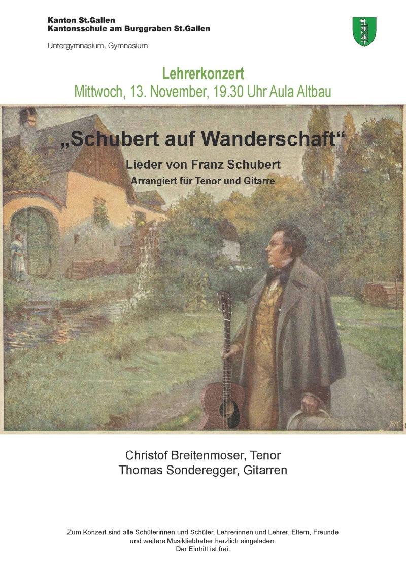 Schubert auf Wanderschaft