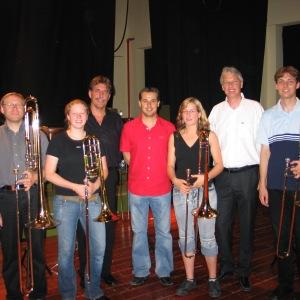 Kursus in Spanien im Jahr 2005 mit den Dozenten Ben van Dijk, Jörgen van Rijen und Hendrik-Jan Renes