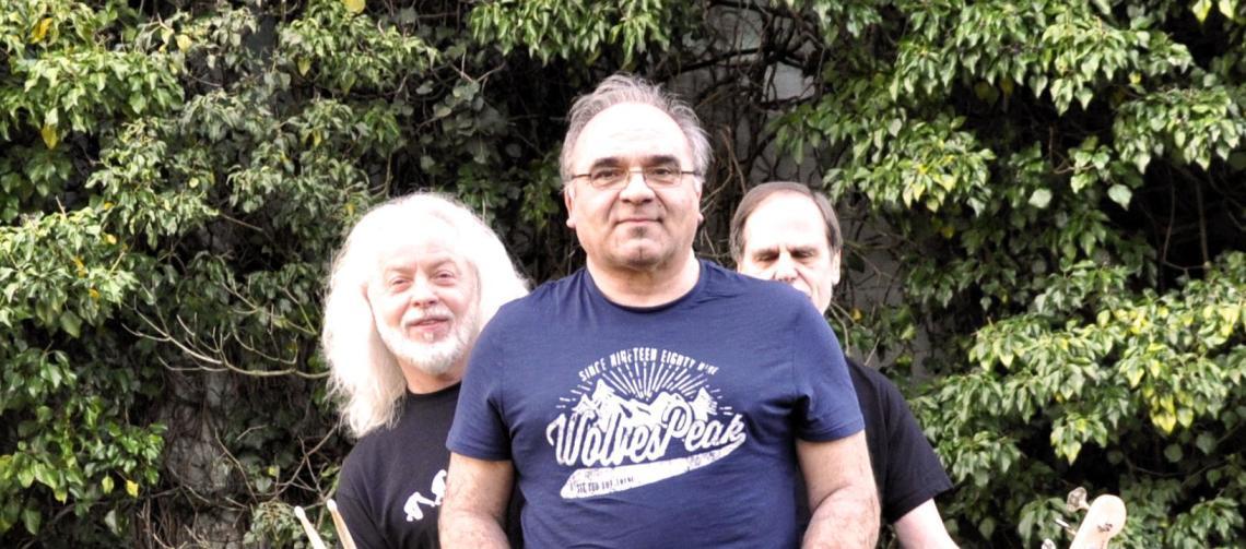 Band vor Proberaum