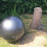Gymnastikball-Übungen für Muskulatur, Koordination und Gleichgewicht