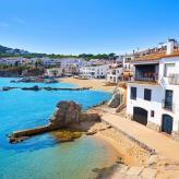 schöner Küstenort in Katalonien
