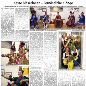 07.06.2014 Südostbayerische Rundschau