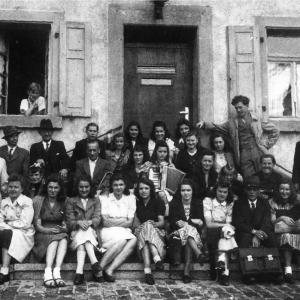Der evangelische Kirchenchor 1946