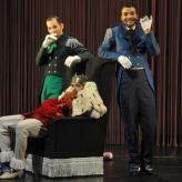 Tapferes Schneiderlein am Staatsschauspiel Dresden (Rolle: König, mit Felix Schwandtke und Martin Schicketanz)