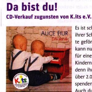"Kinderkram 05/2014 CD ""Da bist du"""