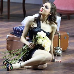 В роли Барбарины в опере В. А. Моцарта «Свадьба Фигаро» (Баварская государственная опера, Мюнхен). Фото: W. Hösl.