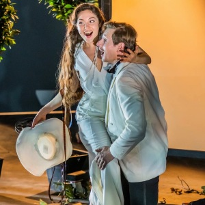 """As Susanna in W. A. Mozart´s """"Le nozze di Figaro"""" (Figaro - D. Miroslaw, The New Generation Festival, Florence). Photo by G. Bell."""