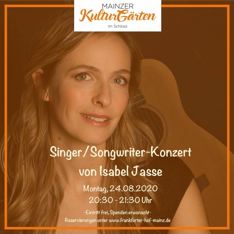 Konzert Isabel Jasse_Kulturgärten Schloss Mainz