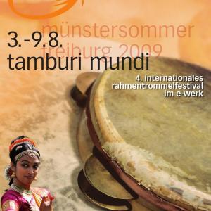 Poster_Tamburi Mundi 2009