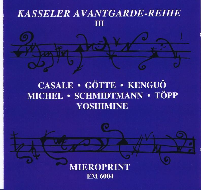 Cover von Kasseler Avabtgarde-Reihe III