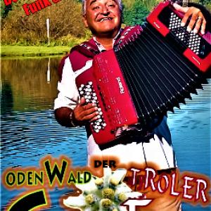 """Neue Autogramm Karte von Gert Emig """"Der Odenwald Tiroler """""""