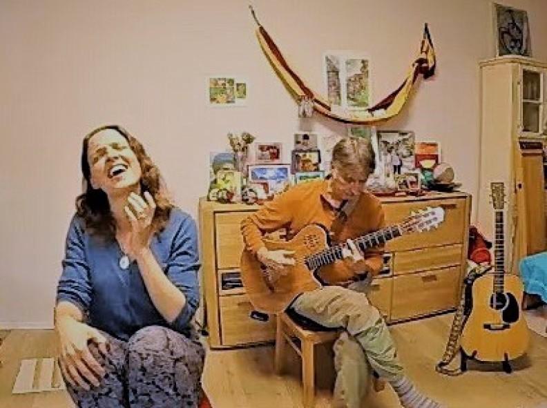 Einstimmung HERZBESTIMMT SINGEN mit Elisabeth und Dirk